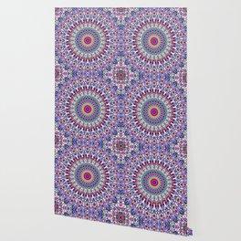 Fantasy Flower Garden Mandala Wallpaper