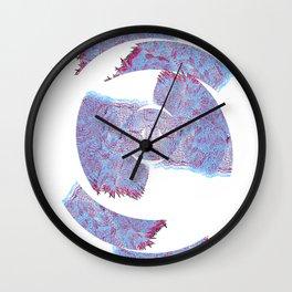 Die Seltsam (runde vier.) Wall Clock