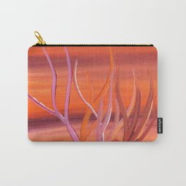 Desert Coral Carry-All Pouch