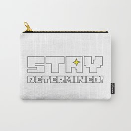 Undertale Stay Determined Carry-All Pouch