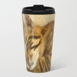 Let Sleeping Cats Lie Travel Mug