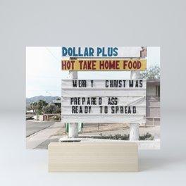 Dollar Plus Landscape Billboard Mini Art Print