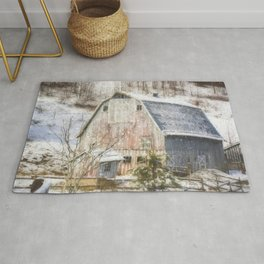 Old Fashioned Values - Country Art Rug