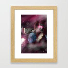 Screamer of Stars Framed Art Print
