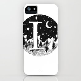 Midnight L iPhone Case