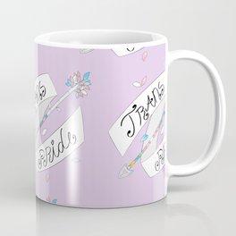Trans Pride Arrow Coffee Mug