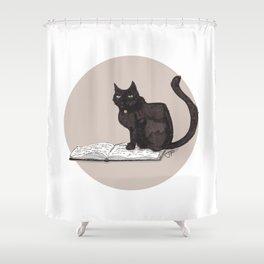 Feeling Bookish Shower Curtain
