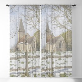 Postling Church Sheer Curtain