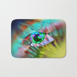 Third eye Bath Mat