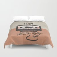 history Duvet Covers featuring History by Art of Nanas