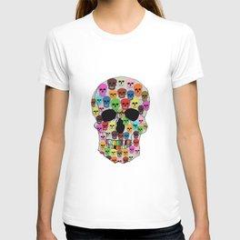 colorfull skull T-shirt