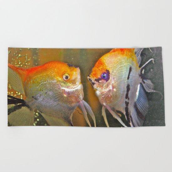 VAL & TINE ANGELS Beach Towel