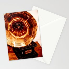 Phonograph Stationery Cards