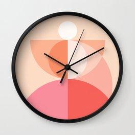 Abstraction_Geometric_Circles_MInimalism_001 Wall Clock