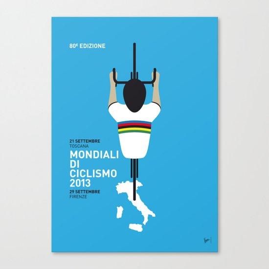 MY Mondiali di Ciclismo MINIMAL POSTER - 2013 Canvas Print