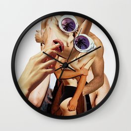 Beach Heat Wall Clock