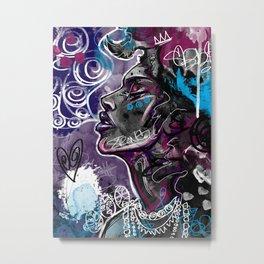 Alive Metal Print