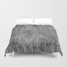 Abstract Streaks Pattern Duvet Cover
