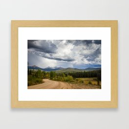 Beautiful Mountain Pictures of Colorado - North Park Framed Art Print