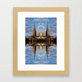 Spires Framed Art Print