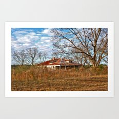 Another Forgotten Home Art Print