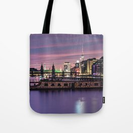 Berlin Purple Tote Bag