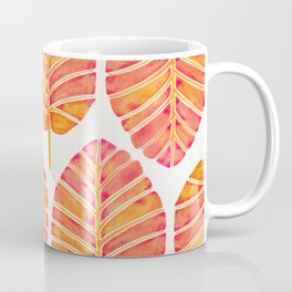 Elephant Ear Alocasia – Peach Palette Coffee Mug