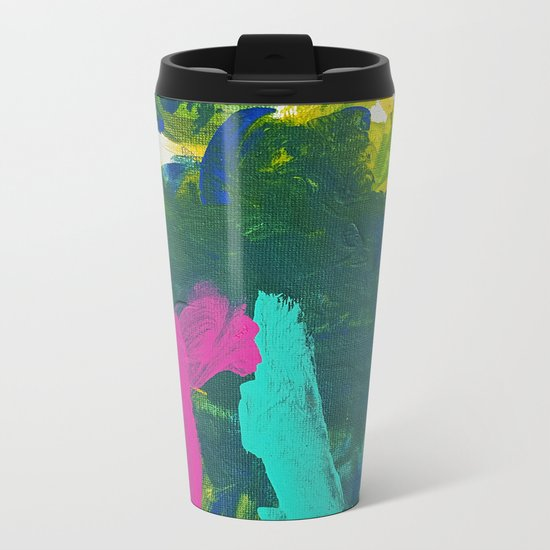 Sean's Art Metal Travel Mug
