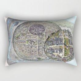Astana - Saint Petersburg - New York Rectangular Pillow