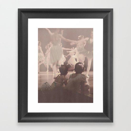 Ballerinas Framed Art Print