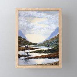 Tripods Framed Mini Art Print