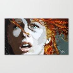 Leeloominaï Canvas Print