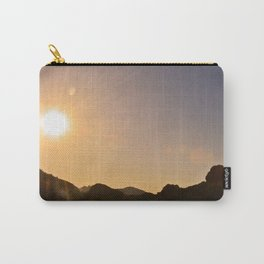 Sunset on the Apache Trail Carry-All Pouch