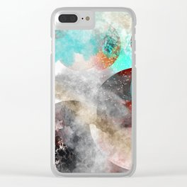 Planets 34 Clear iPhone Case