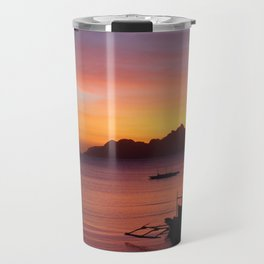 El Nido Sunset Travel Mug