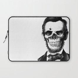 Lincoln Skull Laptop Sleeve
