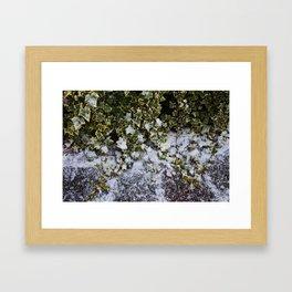 Neve em Londres - 6 Framed Art Print