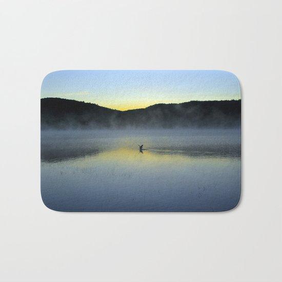 Perfect Landing (Sunrise, Lake George) Bath Mat