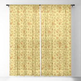 Pure Gold Sheer Curtain