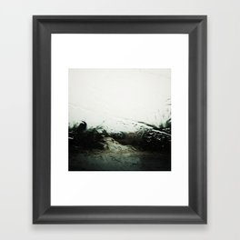 only love can dig you out of this Framed Art Print