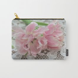 Ruffed Petals Carry-All Pouch