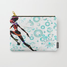 Alien Girl In a Digital World Carry-All Pouch