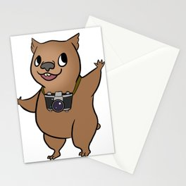 Wombat with 35mm SLR Stationery Cards
