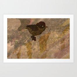 Object Examination: Bird Art Print