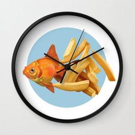 Fish n Chips Wall Clock