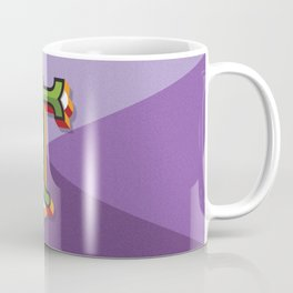 "Typographic Letter ""T"" Coffee Mug"