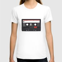 tape T-shirts featuring Old School Tape by Ewan Arnolda