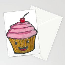 Happy Cupcake Stationery Cards