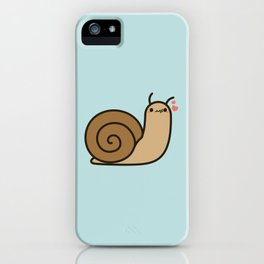 Cute snail iPhone Case