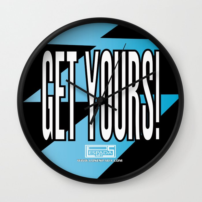 GET YOURS! Wall Clock